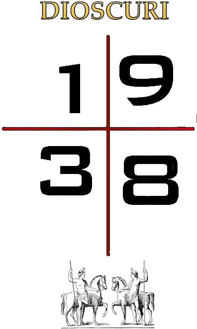 Dioscuri 1938 Logo